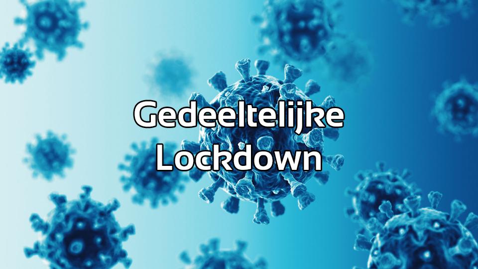 Gedeeltelijke lockdown: Einde competitie